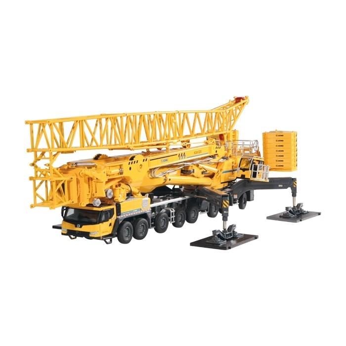 XCMG XCA 1200 Mobil Crane Yellow