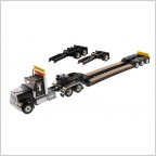 International HX520 Tandem XL 120 Lowboy   Black