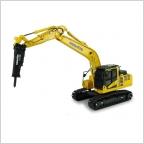 Komatsu PC210LC ll Hammer Drill