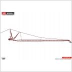 Liebherr LTM 1500 JIB red  Premium Line