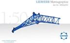 Liebherr Montagespitze LIEBHERR LG/LR 1750 Felbermayr blau