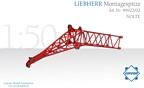 Liebherr Montagespitze LIEBHERR LG/LR 1750 Nolte rot