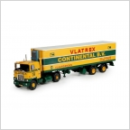 Mack F700  ribbelbak trailer Vlatrex