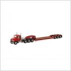 MACK Granite 8x4 Lowboy 3 axle USA Basic Line red