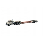 MACK Granite 8x4 Lowboy 3 axle USA Basic Line white