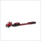 MACK Granite 8x4 Lowboy 4 axle USA Basic Line red