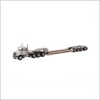 MACK Granite 8x4 Lowboy 4 axle USA Basic Line white