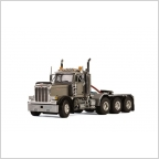 Peterbilt 379 DAY CAB 8X4 silver