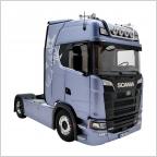 Scania 730S V8 Zugmaschine fictionblue  1:18