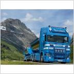 Scania R Highline CR20H Asphalt Hooklift System Container  Tende