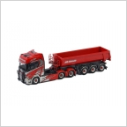 Scania R Highline CR20H Half Pipe Tipper Trailer  NA Schakt