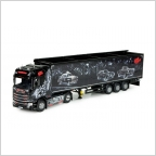 Scania S-serie  Cargo floor trailer Repinski  Sin City