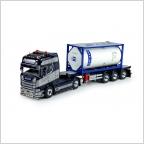 Scania S serie Highline Tankcontainer Berg.M Van den