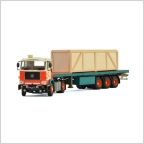 Volvo F88 Classic flatbed trailer Lommerts