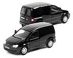 VW Caddy schwarz