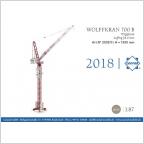 Wolffkran 700B Luffing jib crane